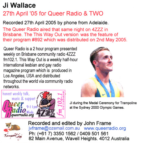 Ji Wallace CD art re 27 April 2005 interview(252K)