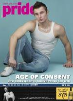 cover art for Queensland Pride February 2010 and link to an html file copy of the online article